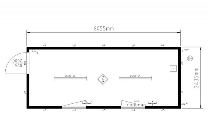 20ft-accommodatie-container-plattegrond-w700h585
